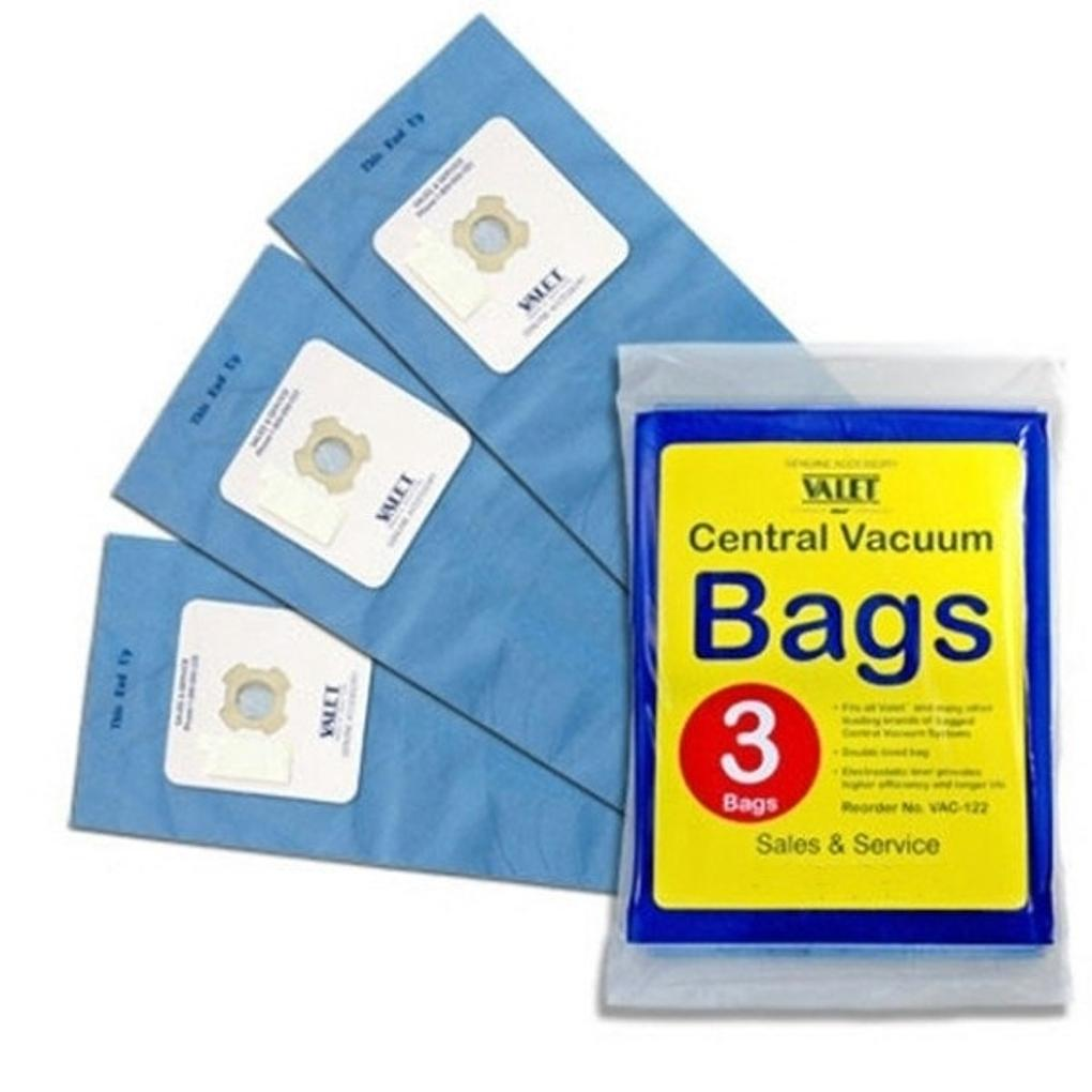 Valet Vacuum Bag 3 Pack