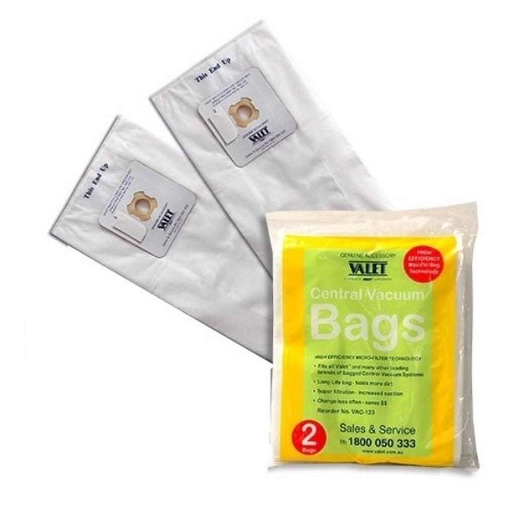 Valet White Vacuum Bags 2 Pack
