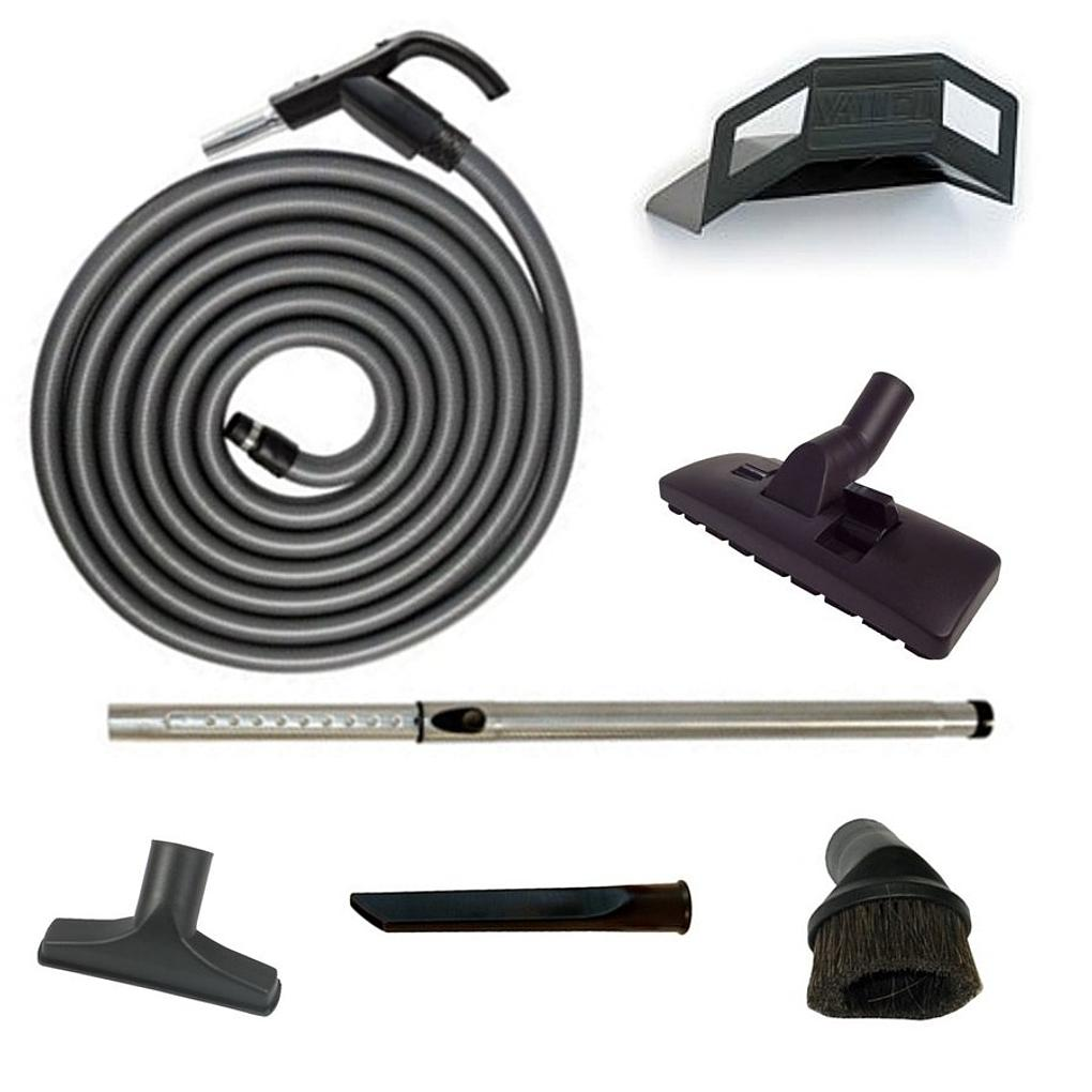 Switched Vacuum Hose Kit 9m, 10.5m or 12m Suits all Ducted, Central & Vacu maid Vacuums