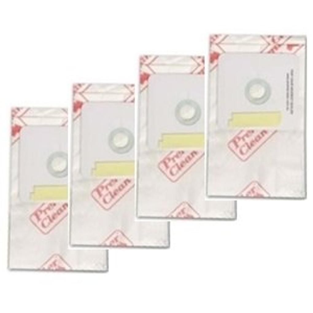 Genuine Premier Clean Compact, Monarch and Premier model Vacuum Bags 4 pack