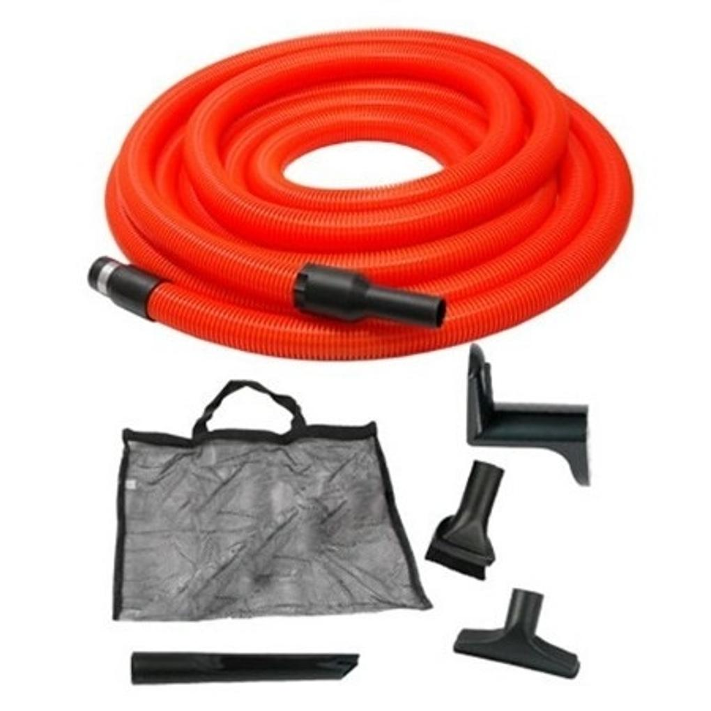 Garage Ducted Vacuum Hose Kit Suits all Ducted, Central & Vacu maid Vacuums